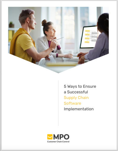 Ensure a Successful Supply Chain Software Implementation - cover image