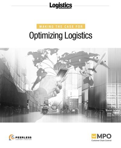 MtC Optimzing Logistics Cover
