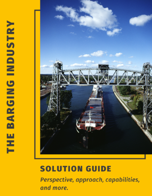 Barge Industry Solution Brief Cover