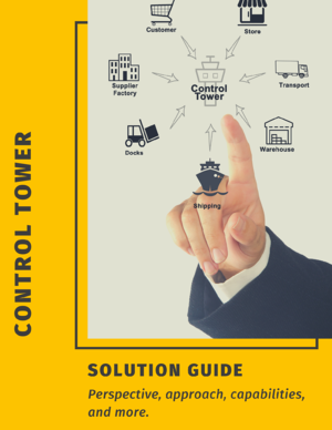 Control Tower Solution Brief Cover
