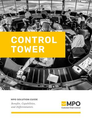 Cover page - Control Tower Solution Guide